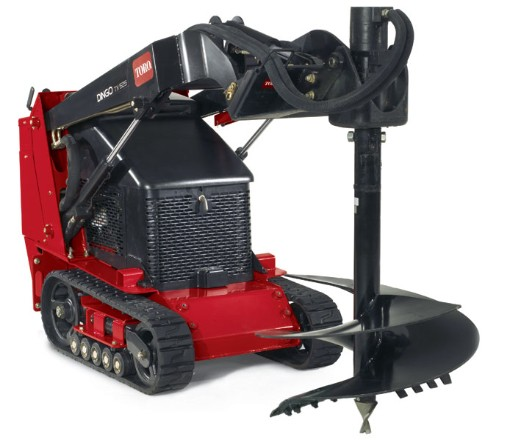 Toro Dingo Utility Tractor with Auger