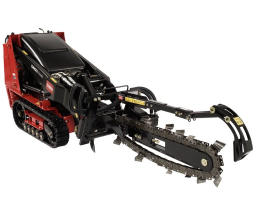 Toro Dingo Utility Tractor with Trencher